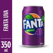Refrigerante Fanta Uva 350ml Lata -