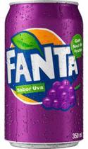 Refrigerante Fanta Uva Lata 350ml -