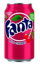 Refrigerante Fanta Wild Cherry 355ml - Fanta Cereja - Importado Estados Unidos -