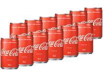 Refrigerante Lata Coca-Cola Original 12 Unidades - 220ml