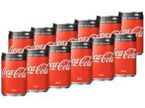 Refrigerante Lata Coca-Cola Zero 12 Unidades - 220ml