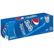 Refrigerante pepsi real sugar açúcar real kit 12 latas 355ml -
