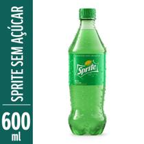 Refrigerante Sprite Zero 600ml Garrafa -