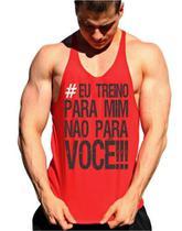 Regata Cavada Eu Treino Para Mim Não Para Você - The Camisetas