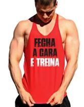 Regata Cavada Fecha A Cara E Treina Masculina - The Camisetas