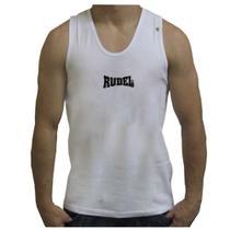 Regata Dry BodyBuilder Rudel - Branca Tamanho M -