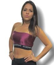 Regata Ecko Top Feminina Rosa Metálico F97277F - TAM P -
