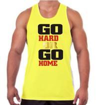 Regata Go Hard Or Go Home Para Treino Masculina - The Camisetas