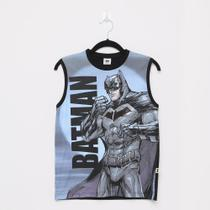Regata Infantil Fakini Batman Masculina -