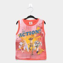 Regata Infantil Fakini Toy Story Action Masculina -