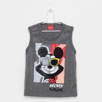 Regata Infantil Kamylus Meia Malha Mickey Mouse -