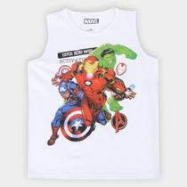 Regata Marvel Vingadores Masculina -