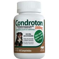 Regenador Articular Condroton Vetnil 1000mg - 60 Comprimidos -