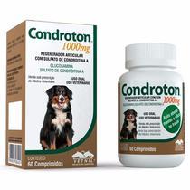Regenerador Articular Condroton 1000mg Vetnil 60 Comprimidos -