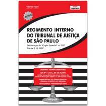 Regimento Interno Tribunal de Justiça de São Paulo - Edipro -