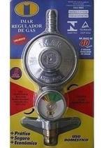 Registro Regulador De Gás Imar Para Botijão Com Medidor -