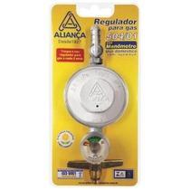 Registro Regulador Válvula De Gás Com Medidor - Aliança -