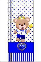 Régua do Crescimento Urso Principe - Design E Cia Brasil