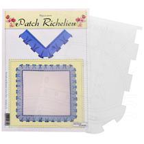 Régua para Patch Richelieu Márcia Caires Modelo 23 - Barrado de Babado Canto Reto - Decorart