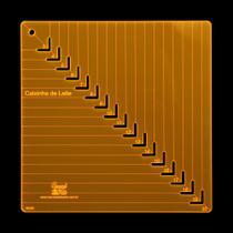 Régua para Patchwork Caixinha De Leite 20 Cm - Carrossel Da Arte