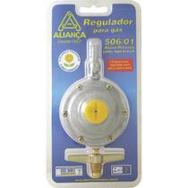 Regulador para Gás Aliança 506/01 Grande sem Mangueira Blister -