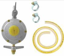 Regulador para Gás Aliança ref 506/01 - 2 kg/h c/ Mangueira 1,25m e 2 Abraçadeiras -