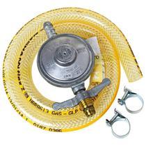 Regulador para Gás Imar 0728/02 Médio 1Kg/H com Mangueira 80cm -