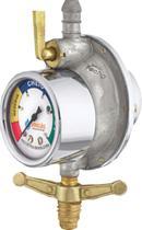 Regulador Registro  Válvula De Gás Top Completo com indicador - Vinigás