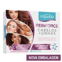 Reinforce para cabelos e unhas - 30 capsulas - equaliv -