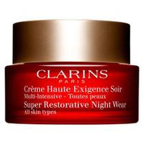 Rejuvenescedor Facial Clarins - Restorative Night Cream -