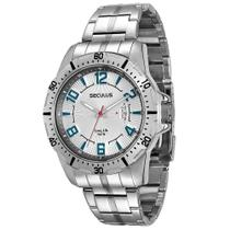 Relógio Seculus Masculino Long Life 28495G0SVNA1 -