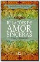 Relacoes de amor sinceras: 33 dias de reflexoes - Besourobox