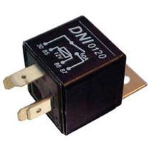 Relé auxiliar 4 terminais, com suporte ( a 20c ) 12v 60a ar condicionado, vidro elétrico, d - Dni