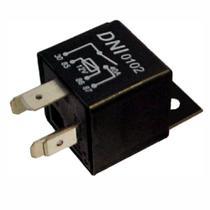 Relé auxiliar universal 4 terminais 12v 40a c/ suporte - dni 0102 -