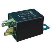 Relé de pisca 4 terminais 12v 500w com suporte, quadrado, caneca de plástico agco busscar - Dni