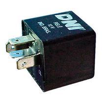 Relé de pisca 4 terminais 12v caneca curta para embutir na caixa de fusível elba spazio1986 - Dni