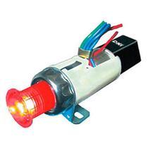 Relé de pisca com lâmpada 12v 240w fixação por rosca - um estágio - pisca alerta eletrônico - Dni