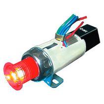 Relé de pisca com lâmpada 24v 240w fixação por rosca - um estágio - pisca alerta eletrônico - Dni