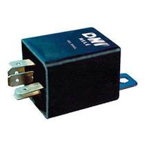 Relé de pisca24v 5 terminais, com suporte, pisca alerta e/ou alternado - buzina, farol, lant - Dni
