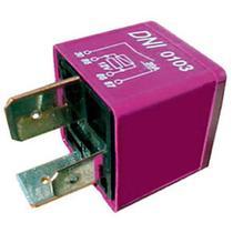 Relé injeção eletrônica 4 terminais 2 largos 12v 30a astra vectra para injeção eletrônica se - Dni
