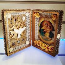 Relicario oratorio livro mãe rainha - Armazem