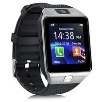 Relogio 2017 Smart Watch Dz09 Android Celular Chip Bluetooth Prata