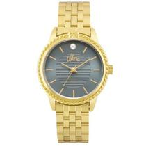 Relógio allora feminino al2035fkv/4a dourado -
