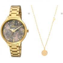 Relógio Allora Feminino Al2036fii/k4c Kit -