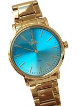 Relógio Allora Feminino Dourado -