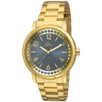 Relógio Allora Feminino Perolas Al2035fia/4a - Dourado -