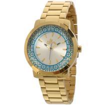 Relógio Allora Kit Feminino Dourado - Al2035eyz/k4k -
