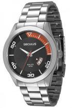 Relógio Analógico  Masculino Seculus 28441G0SVNA1 Prateado -