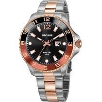 Relógio Analógico Seculus Masculino Long Life - 20764GPSVGA2 -