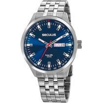 Relógio Analógico Seculus Masculino Long Life - 20798G0SVNA1 -